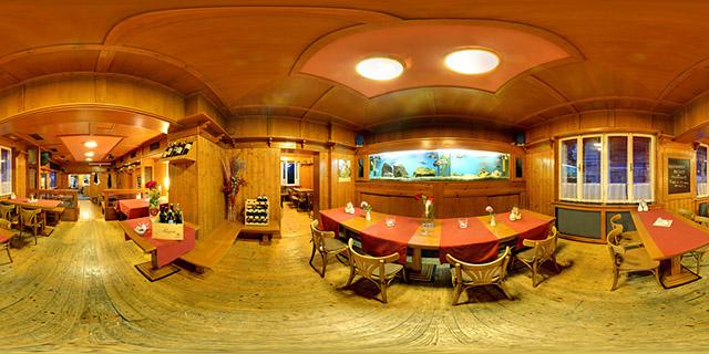 360 panorama interiéru