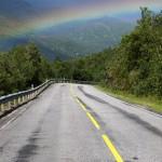 Silnice a duha
