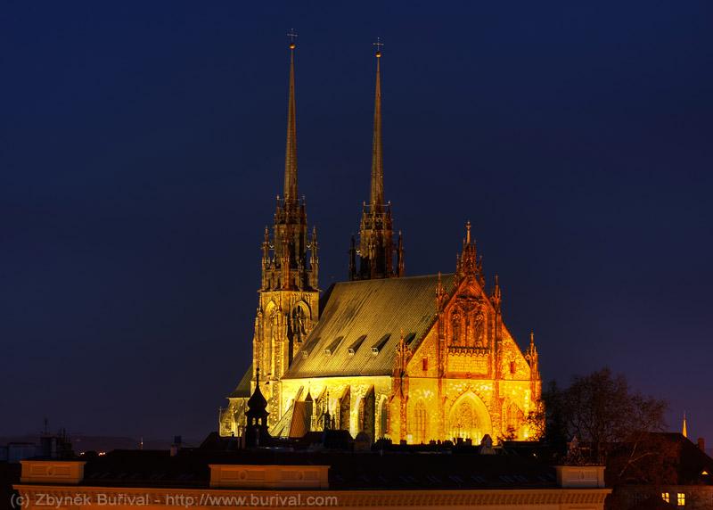 Kostel svatého Petra a Pavla v Brně na Petrově