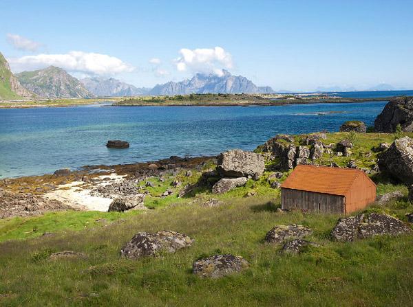 Fotografie norského pobřeží