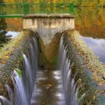 Výpust rybníka